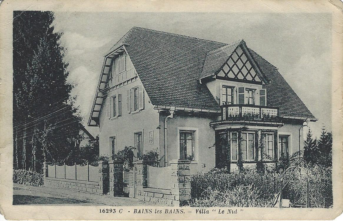 Histoire de la Villa Le Nid